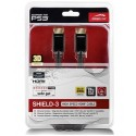Cabo Speedlink Shield HDMI com Ethernet PS3 - 3M