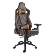 Cadeira Alpha Gamer Polaris Office Brown