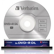 10 DVD+R DL Verbatim 8x 8.5GB