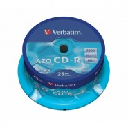 25 Verbatim CD-R 52x 700MB