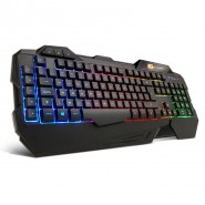 BG R-Force Gaming Keyboard Rainbow PT Layout