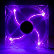 Ventoinha Xigmatek Crystal 120mm Led Purple