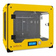 Impressora 3D Bq WitBox Single Extruder Yellow