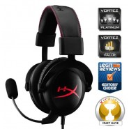 Auscultadores Kingston HyperX Cloud PC/PS4