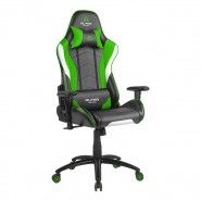 Cadeira Alpha Gamer Delta Black / White / Green