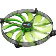 Ventoinha Aerocool Silent Master 200mm Green LED