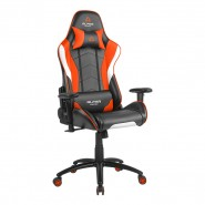 Cadeira Alpha Gamer Delta Black / White / Orange