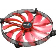 Ventoinha Aerocool Silent Master 200mm Red LED