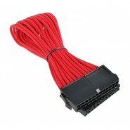 BitFenix 24-Pin ATX Sleeved Red / Black 30cm